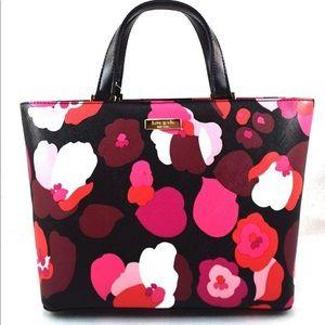 Kate Spade Juno Grant Street floral tote/satchel